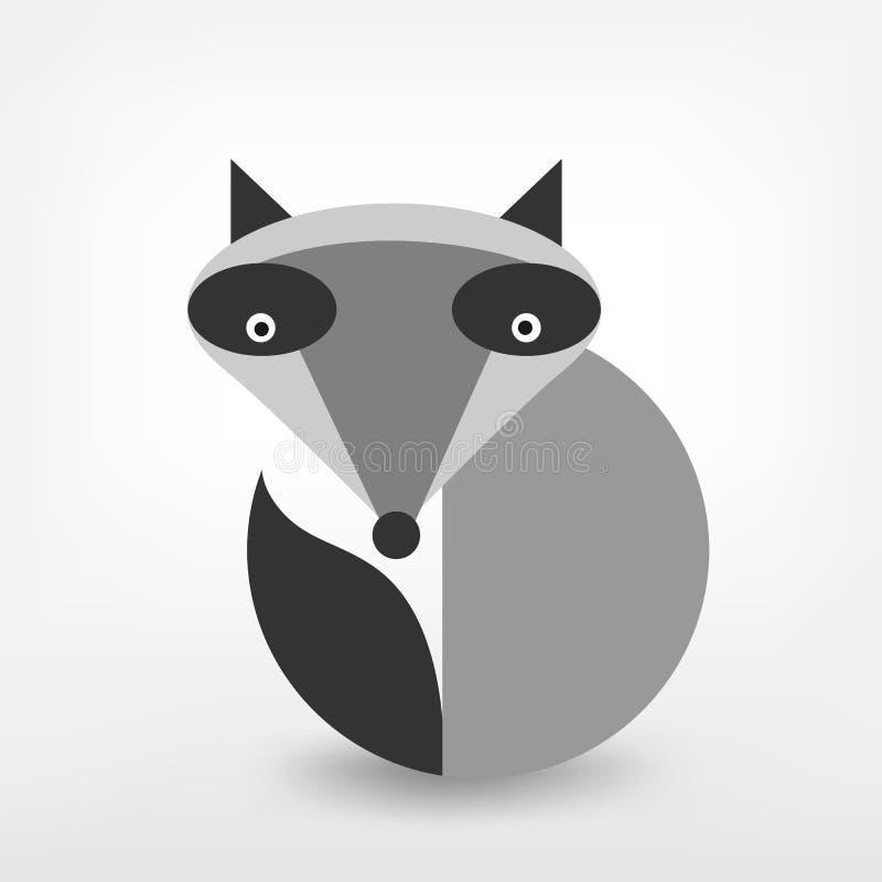 Grafischer Fuchs stock abbildung