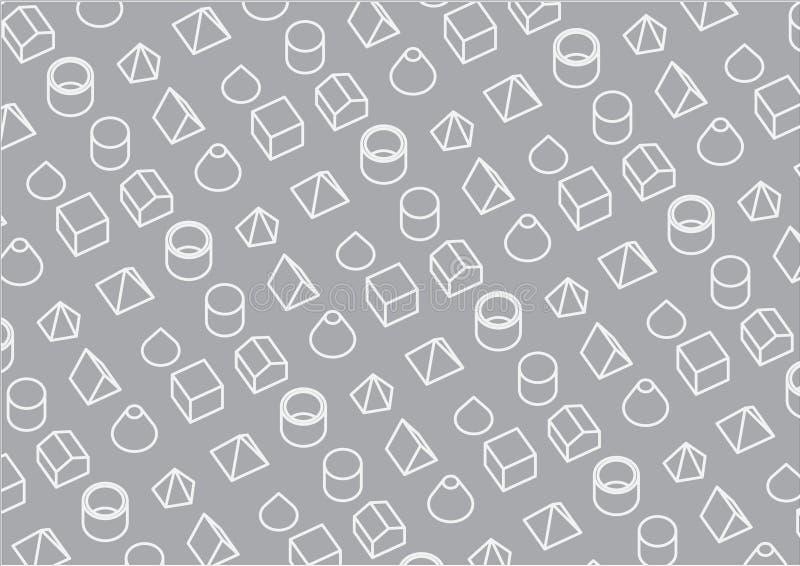 Grafisches Hintergrund-Muster stockbild