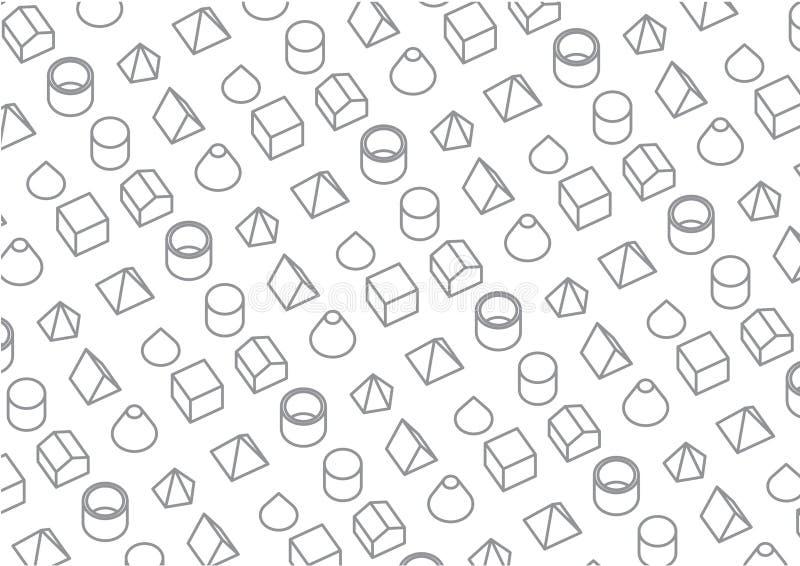 Grafisches Hintergrund-Muster stockfotos
