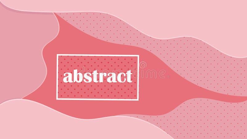 Grafisches modernes Muster K?hler abstrakter Hintergrund Vektorfeiertagsrahmen Abstrakte bunte Steigung Weinleselinie Kunstblau lizenzfreie abbildung