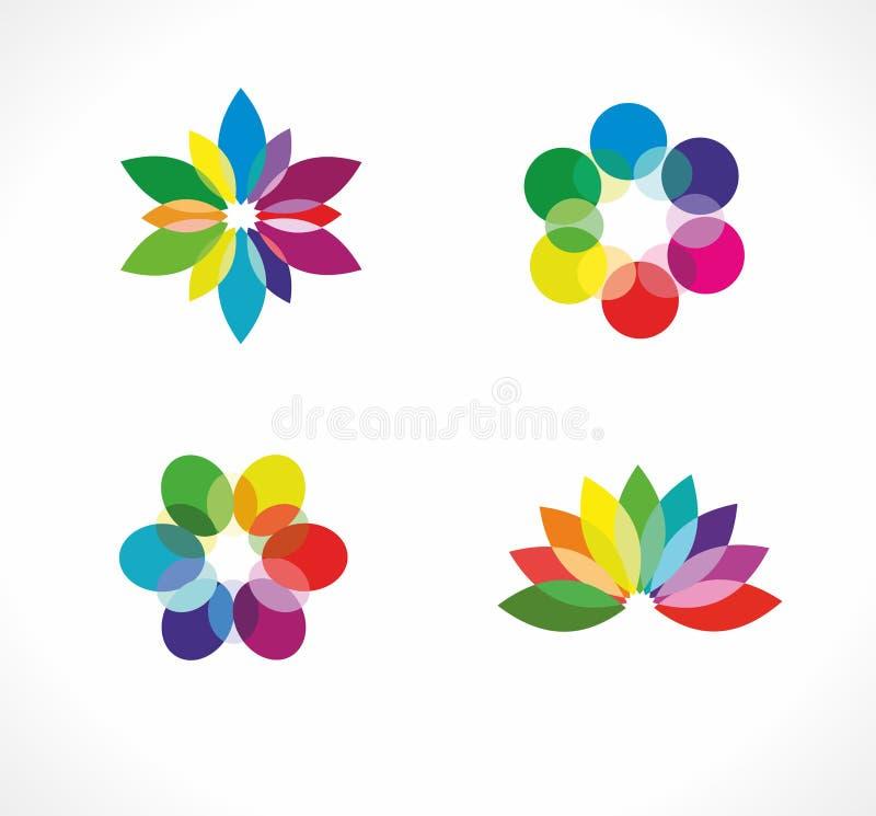 Grafisk logo royaltyfri illustrationer