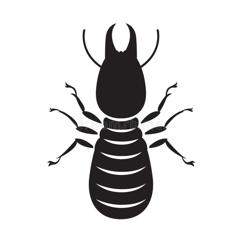 Grafisk termit, vektor royaltyfri illustrationer