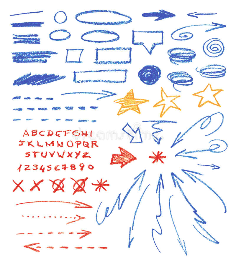 Grafiskt tecken royaltyfri illustrationer
