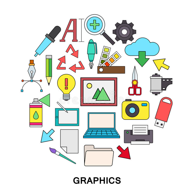 grafit ilustracji