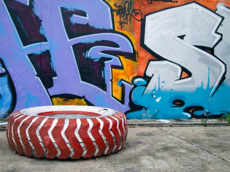 grafiti zdjęcia royalty free