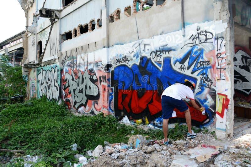 Grafiti 免版税库存图片