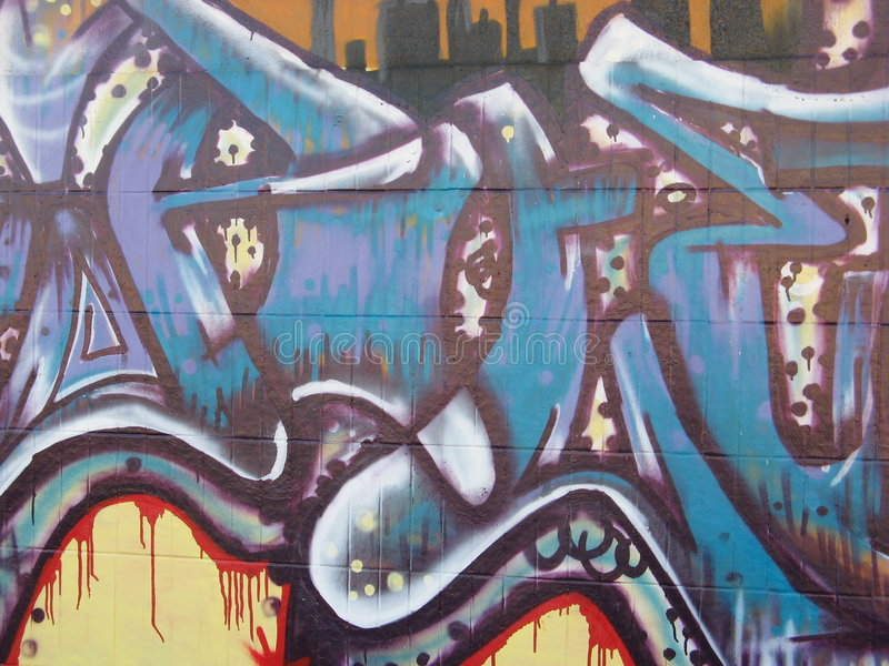 grafitti vektor illustrationer