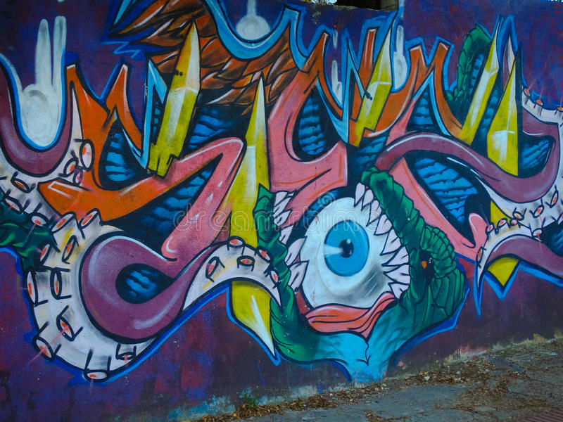 grafitti arkivfoto