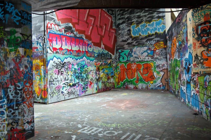 Grafittis coloridos imagens de stock royalty free