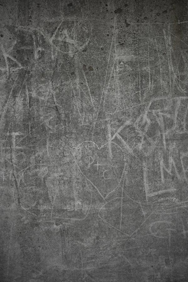Grafittis concretos imagens de stock