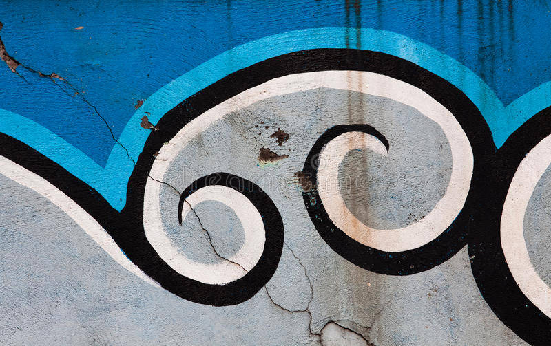 Grafittis da cidade fotografia de stock royalty free