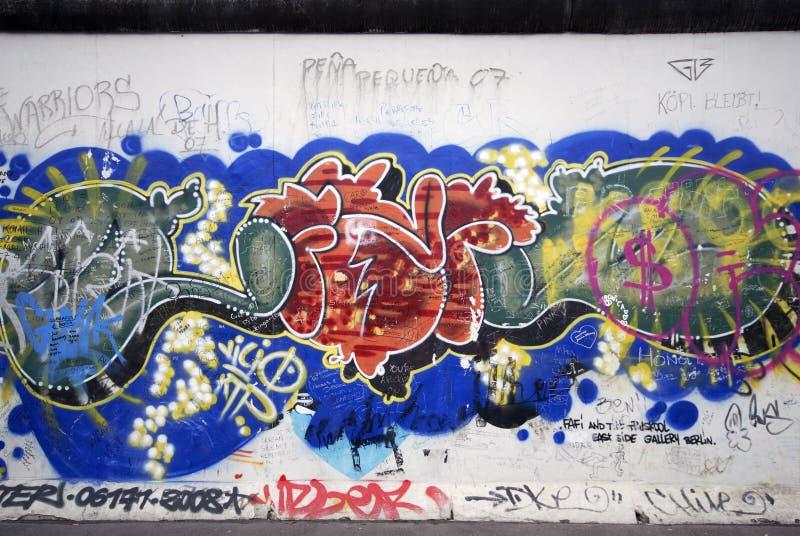 Grafittis de Berlim imagem de stock royalty free