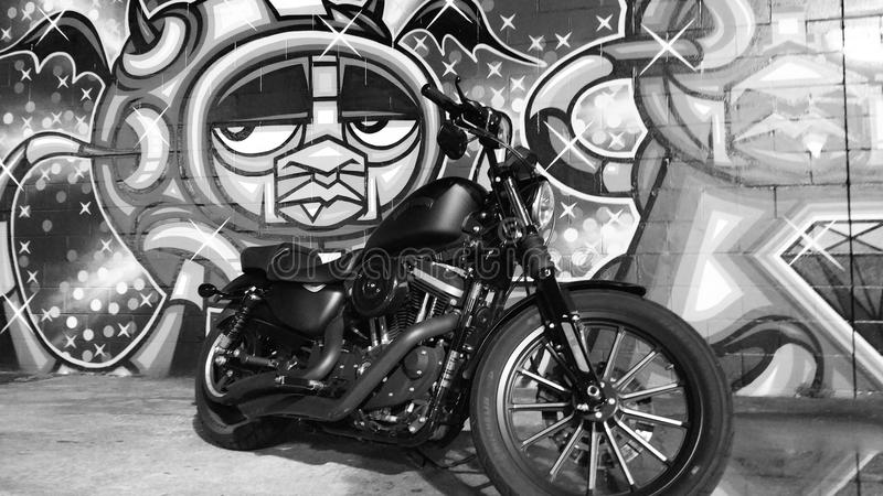 Grafittis HD883 imagem de stock royalty free