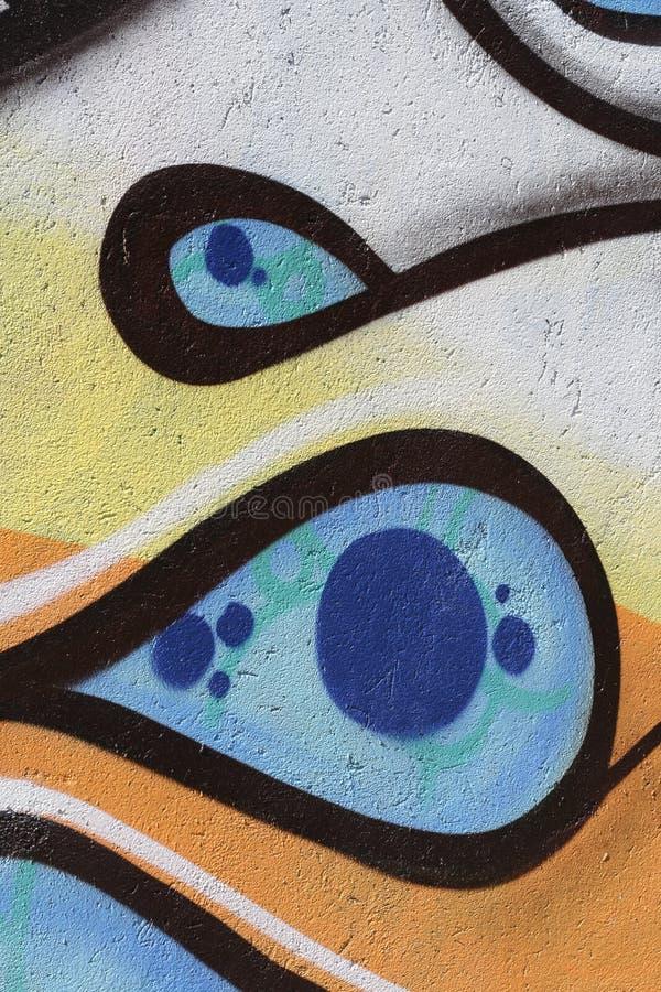 Grafittis italianos n.4587 fotografia de stock royalty free