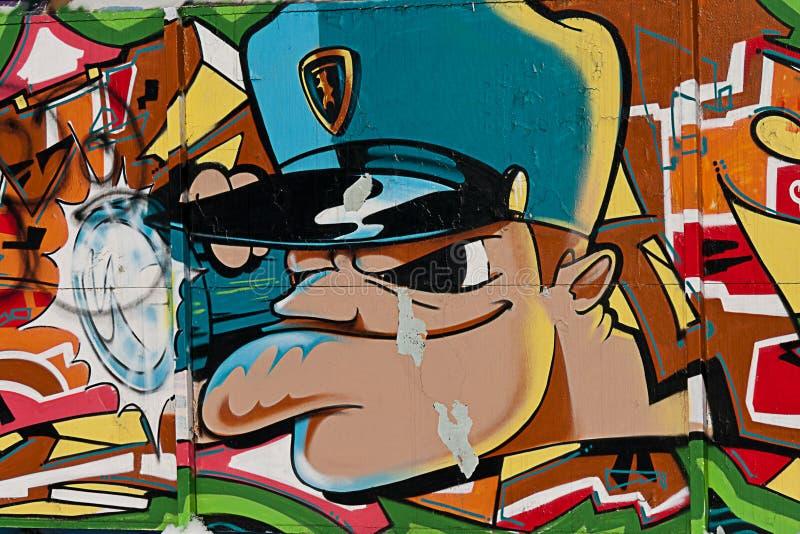 GRAFITTIS URBANOS imagens de stock
