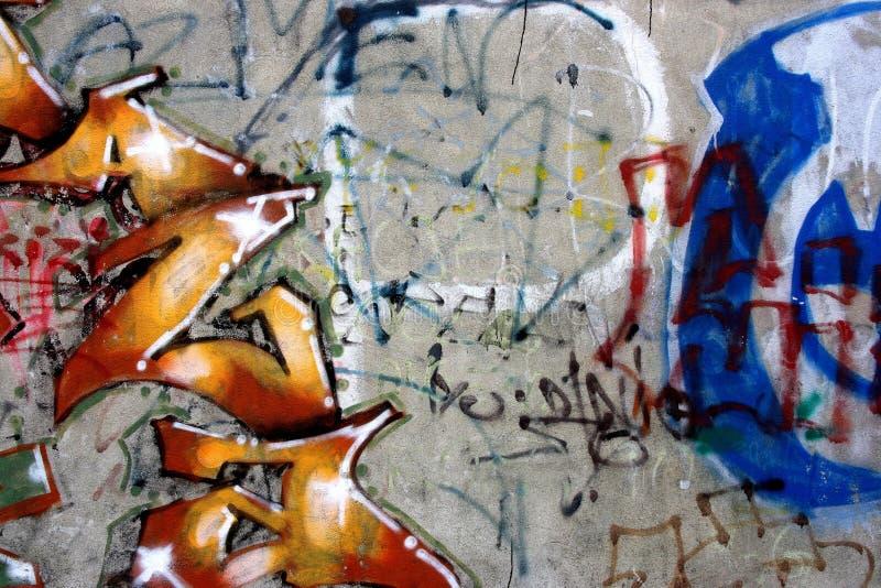 grafittivandalism royaltyfri foto