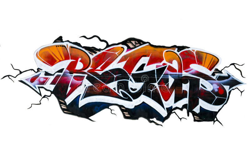 Grafitty stock image