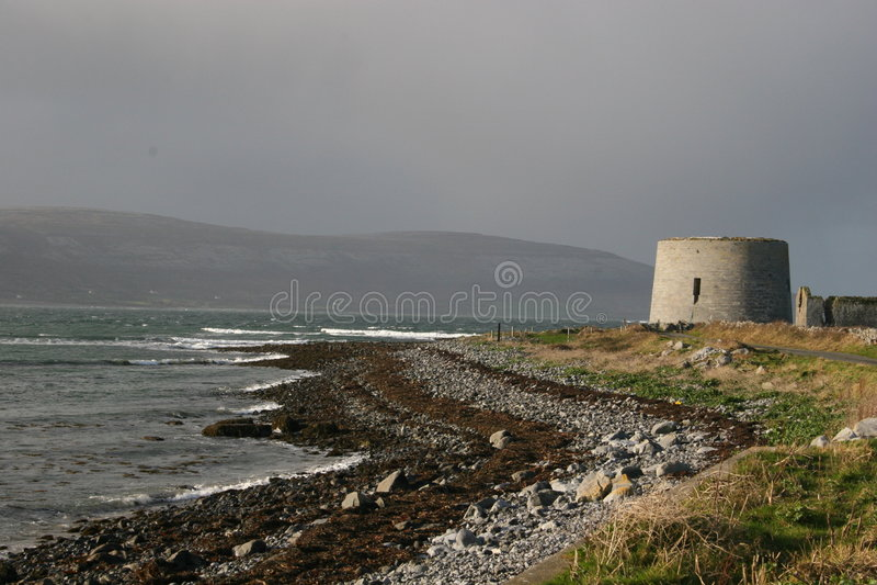 Grafschaft Clare - Januar 2005 - 01 stockfoto