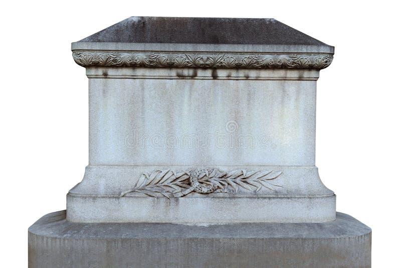 Grafsteen royalty-vrije stock foto's