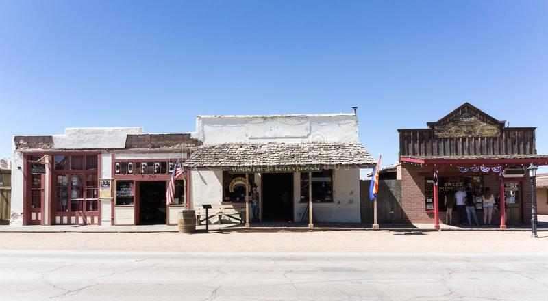 Grafsteen, Arizona stock afbeeldingen
