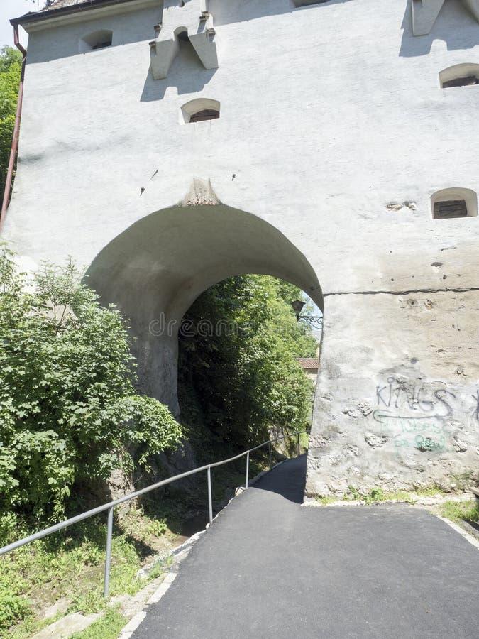 Graft Bastion, Brasov royalty free stock image