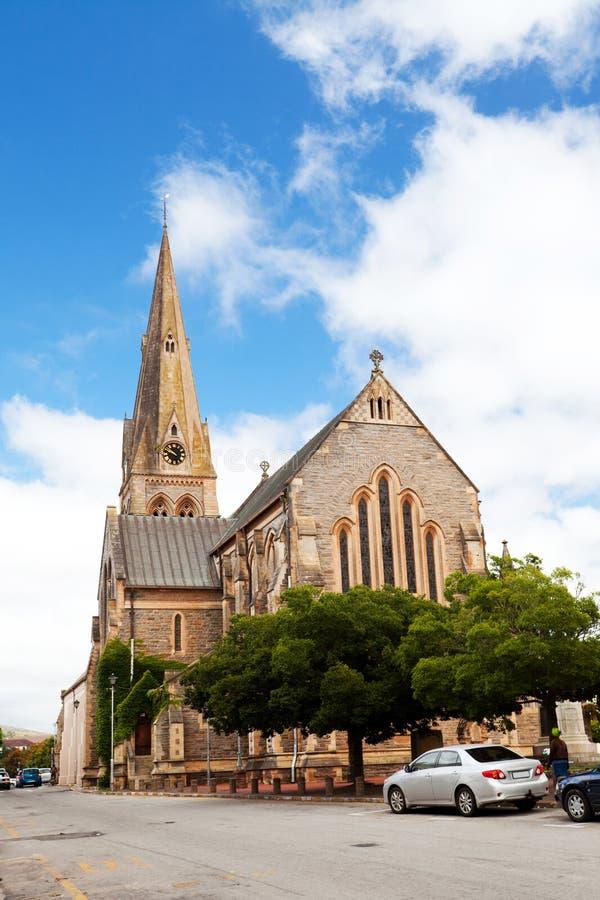 Grahamstown Kirche lizenzfreie stockfotografie