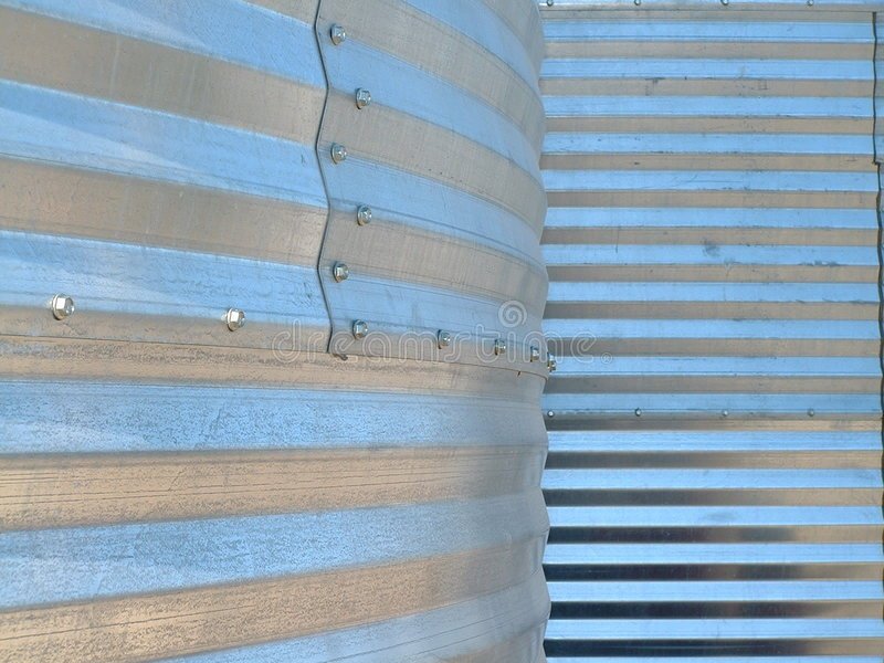 Grain bin texture royalty free stock photography