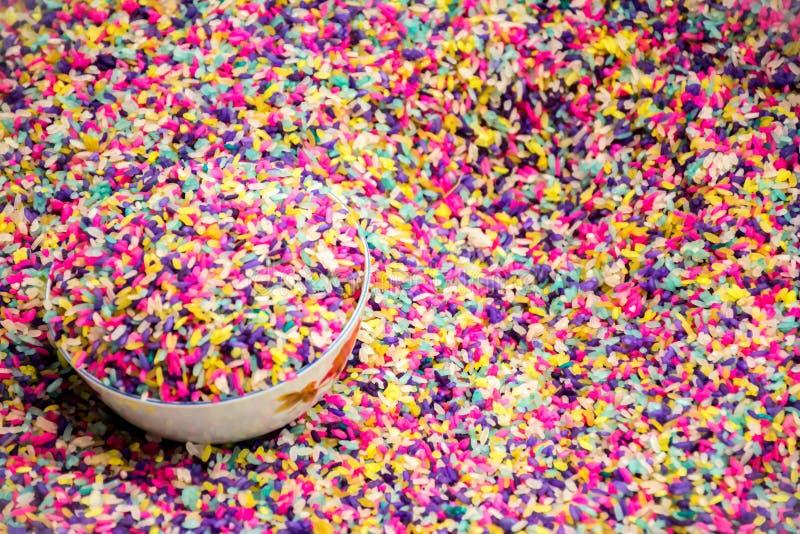 Grain coloré photo stock