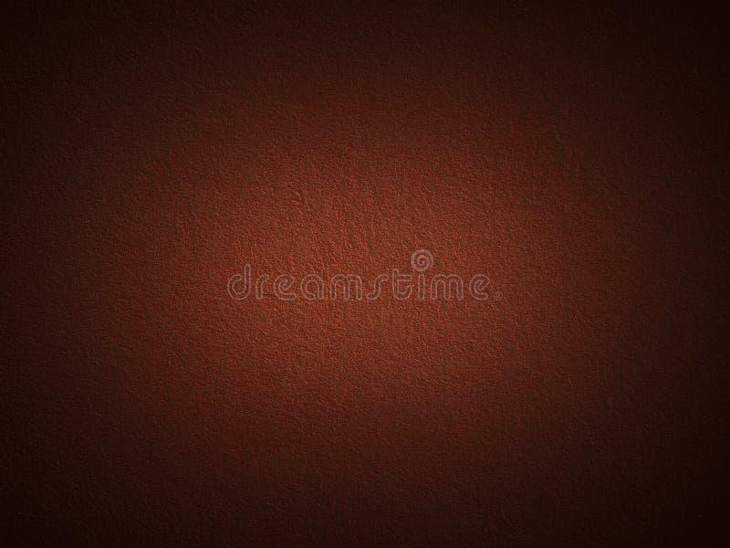 Grain dark red paint wall stock photo