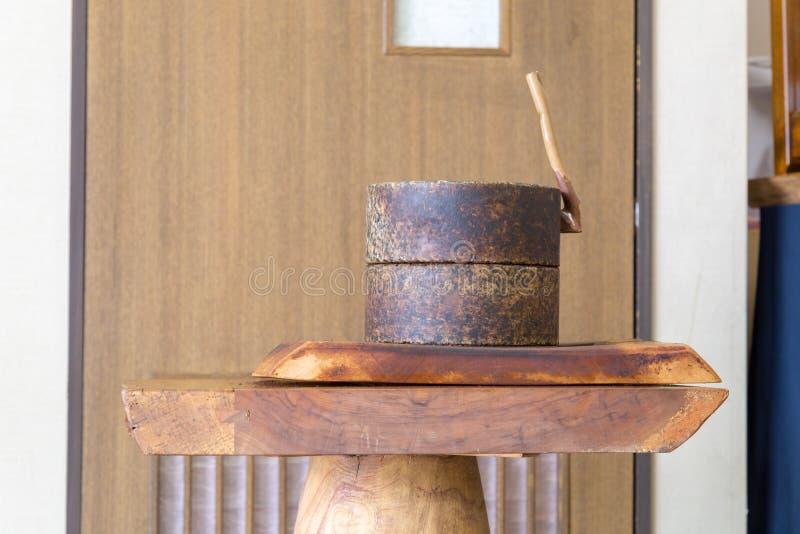 Grain de café de morcellement image libre de droits