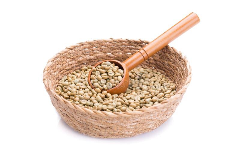 grains de café vert manille