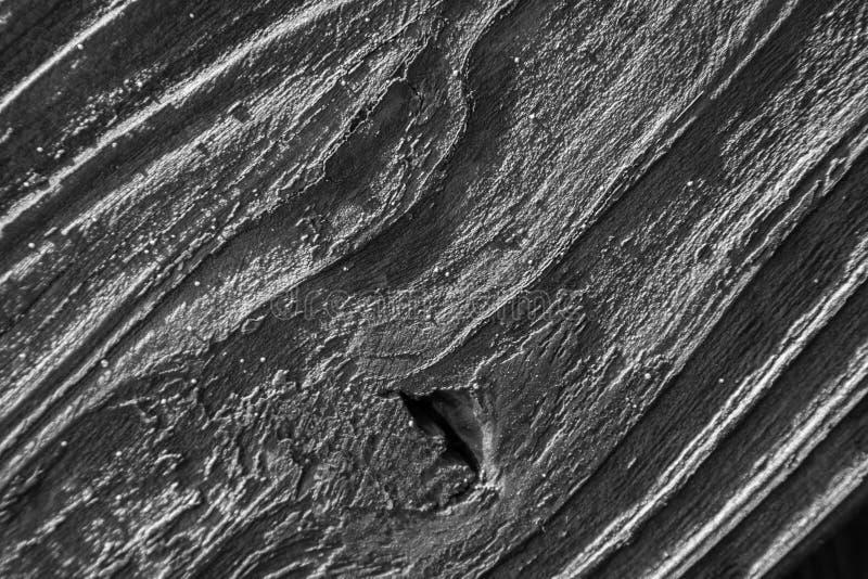 Grain en bois diagonal noir et blanc photographie stock