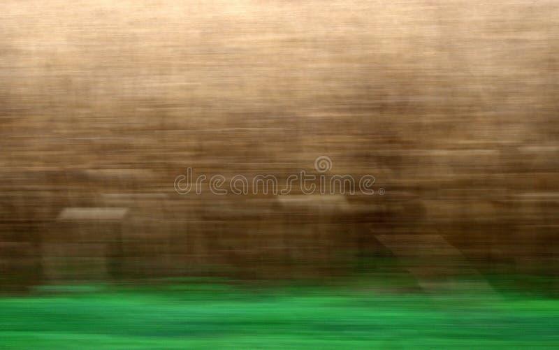 Grain et herbe images stock