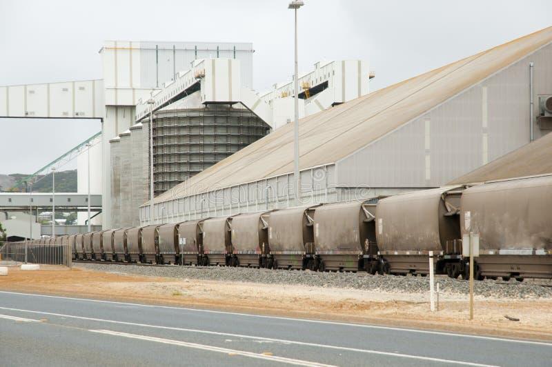 Grain Freight Train royalty free stock image