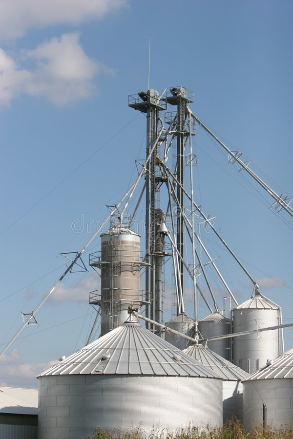 Grain processing royalty free stock photography