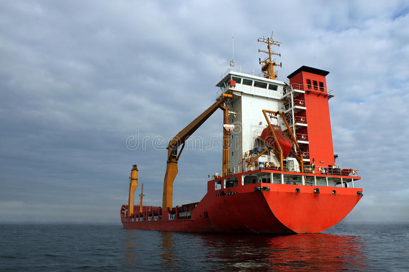 Download Grain ship stock photo. Image of clouds, export, grey - 16919770