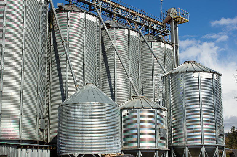Download Grain Silos stock photo. Image of country, stock, storage - 23893332