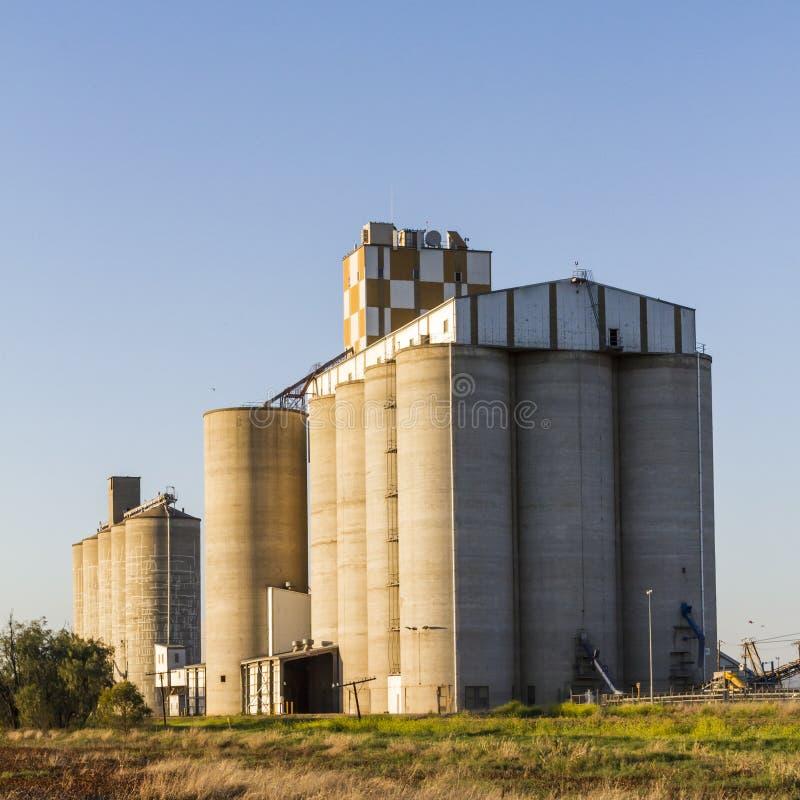 Download Grain Silos stock image. Image of grain, compartments - 27045237