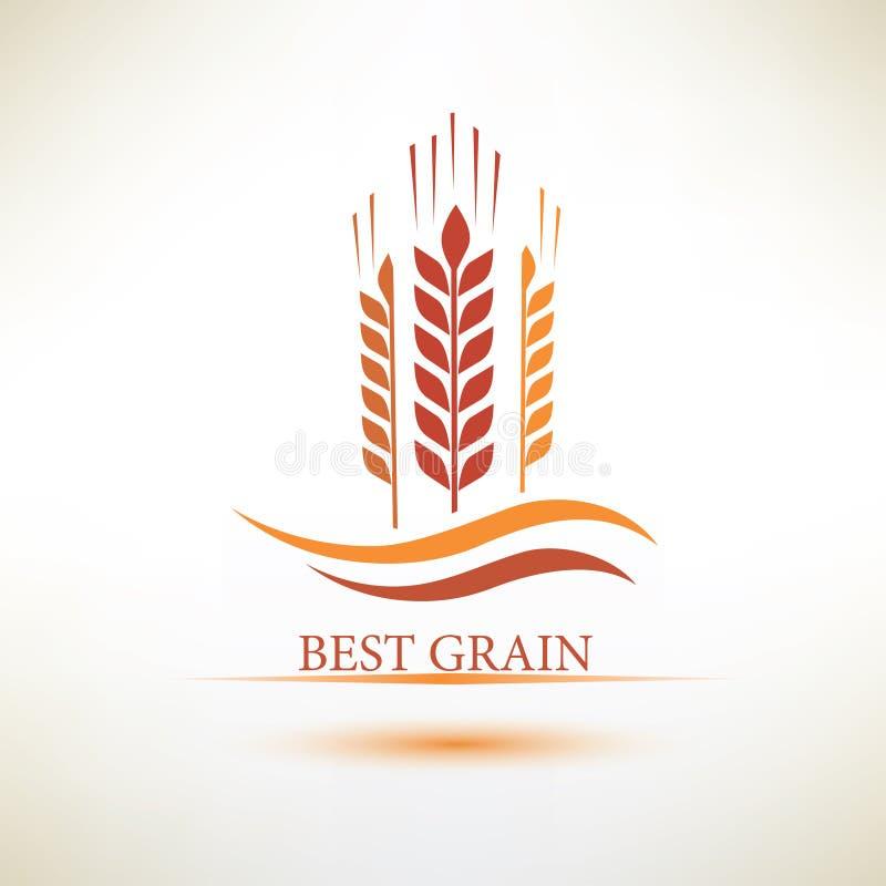 Grain vector symbol royalty free illustration