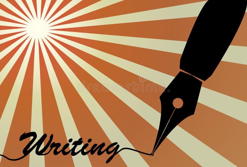 Graine de stylo-plume illustration de vecteur