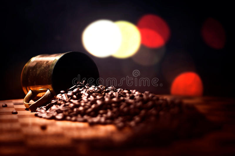 Grains de café photographie stock