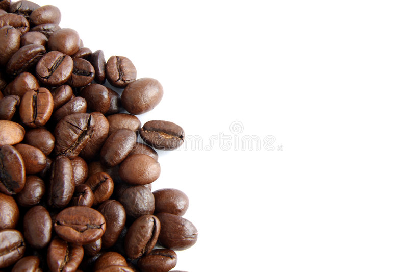 Grains de café 3 photos libres de droits