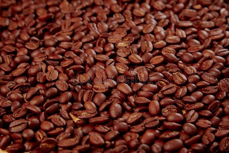 Download Grains de café photo stock. Image du rempli, sidelight - 77156438