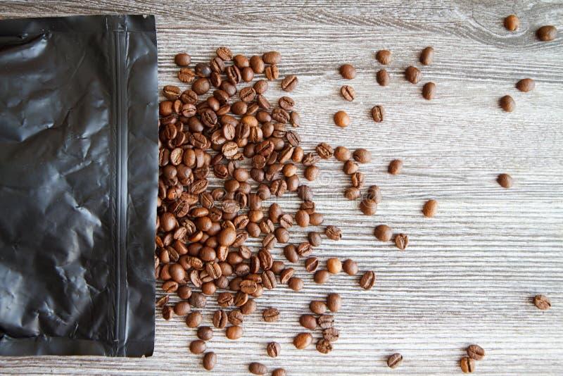 Grains de café IX photographie stock libre de droits
