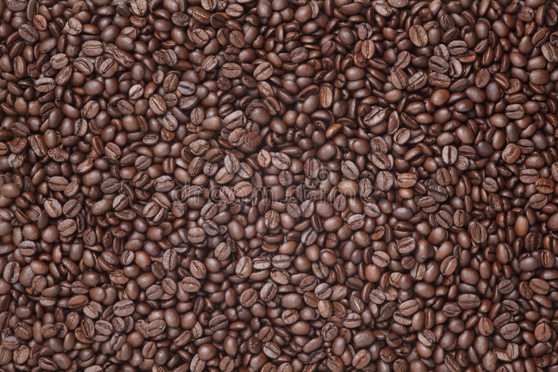 Download Grains De Café Sur Un Fond En Bois Photo stock - Image du texture, graine: 45360222