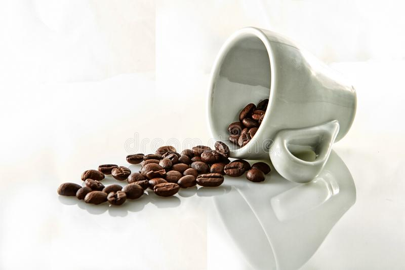 Grains de caf? image libre de droits
