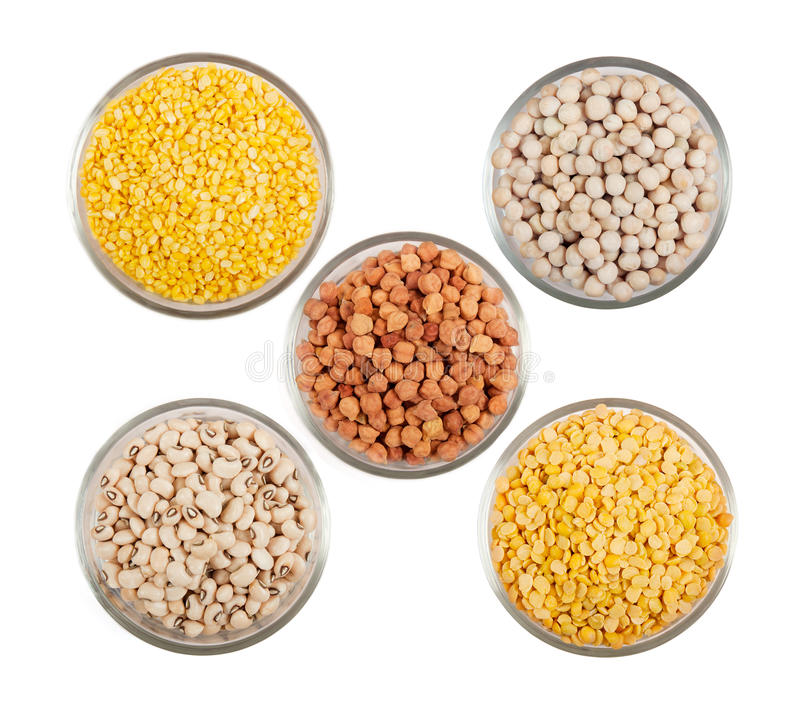 Grains Pulses And Beans Royalty Free Stock Photography
