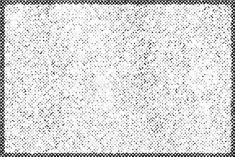Grainy Halftone Background. Distress halftone grainy Overlay Texture for your design. Grunge artistic border and frame template. EPS10 vector vector illustration
