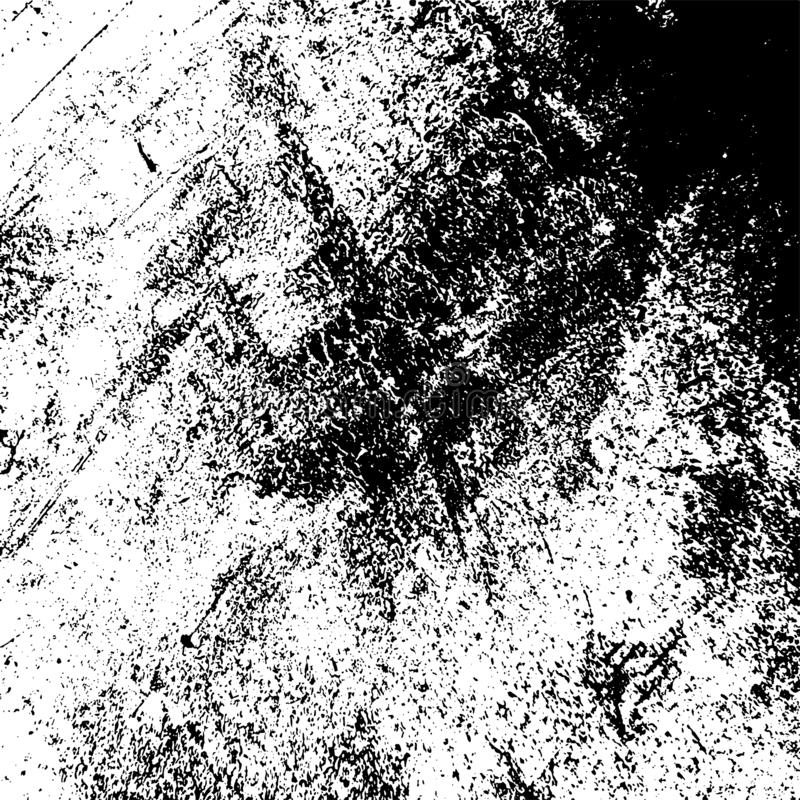 Grainy Overlay Texture. Distress urban used texture. Grunge rough dirty background. Brushed black paint cover. Overlay aged grainy messy template. Renovate wall vector illustration