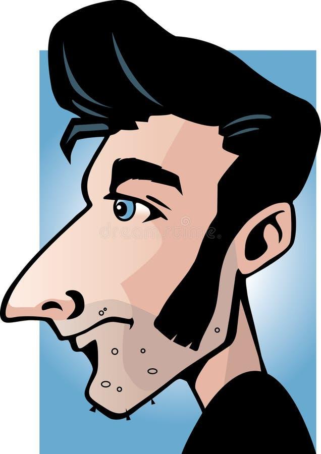 Download Graisseur illustration de vecteur. Illustration du profil - 2134136